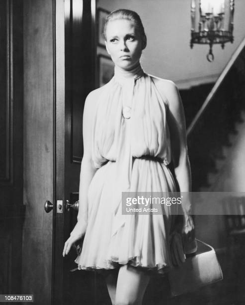 American actress Faye Dunaway as Vicki Anderson in 'The Thomas Crown Affair' directed by Norman Jewison USA 1968
