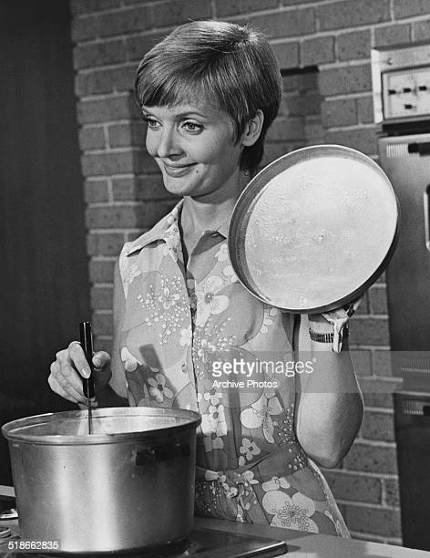 American actress Florence Henderson as Carol Brady in the US TV sitcom 'The Brady Bunch' circa 1973