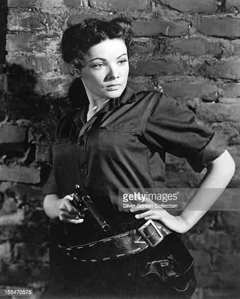 American actress Gene Tierney in the title role of 'Belle Starr' directed by Irving Cummings 1941