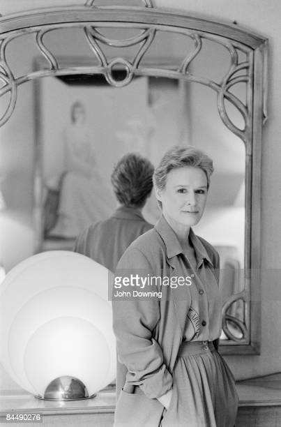 American actress Glenn Close March 1989
