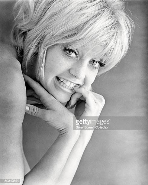 American actress Goldie Hawn in a promotional portrait for 'Cactus Flower' directed by Gene Saks 1969