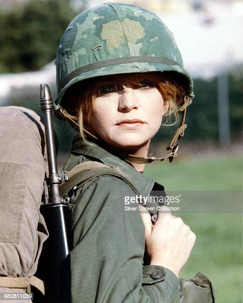 American actress Goldie Hawn joins the US Army in the film 'Private Benjamin' 1980