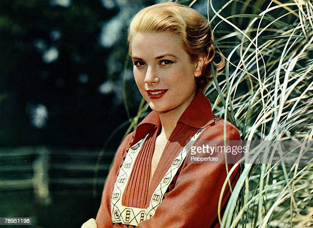 American actress Grace Kelly in a still from the film 'Green Fire' 1954 Born in Philadelphia Kelly starred in such films as 'High Noon' and 'To Catch...