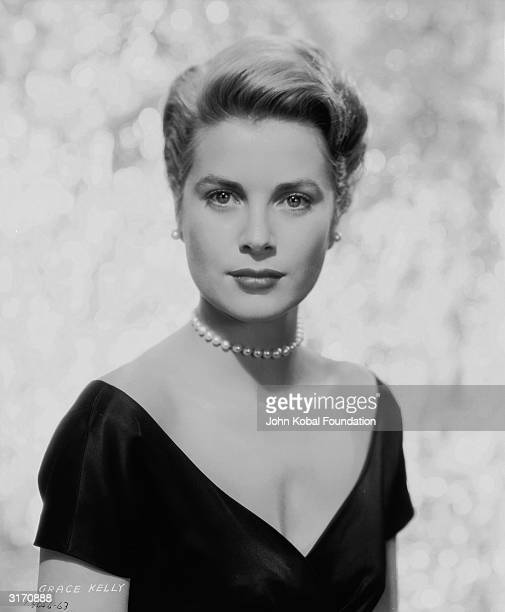 American actress Grace Kelly who is appearing in 'The Country Girl' directed by George Seaton for Paramount Kelly abandoned her movie career in 1956...