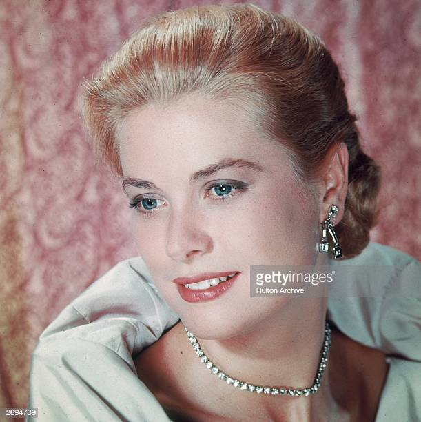American actress Grace Kelly who retired from films in 1956 to marry Prince Rainier III of Monaco She was killed in a car crash in 1982