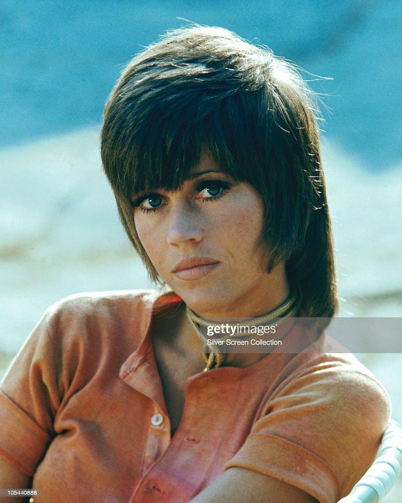 American actress Jane Fonda as call-girl Bree Daniels in 'Klute', 1971.
