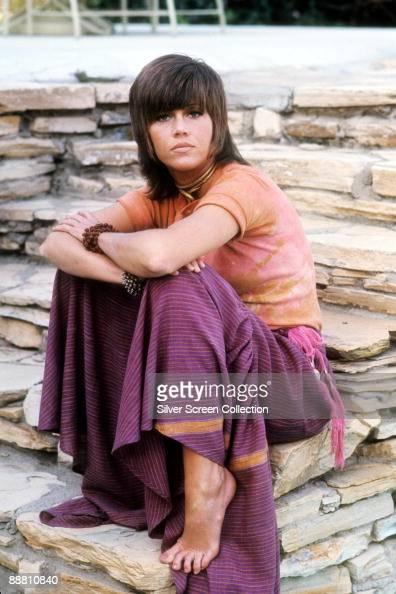American actress Jane Fonda as callgirl Bree Daniels in 'Klute' 1971