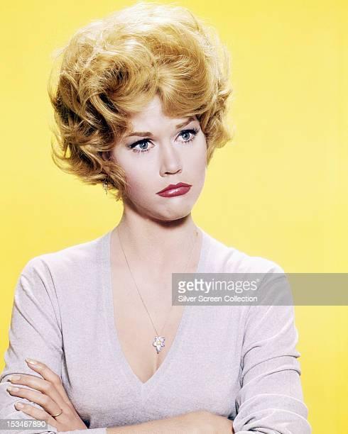 American actress Jane Fonda circa 1963