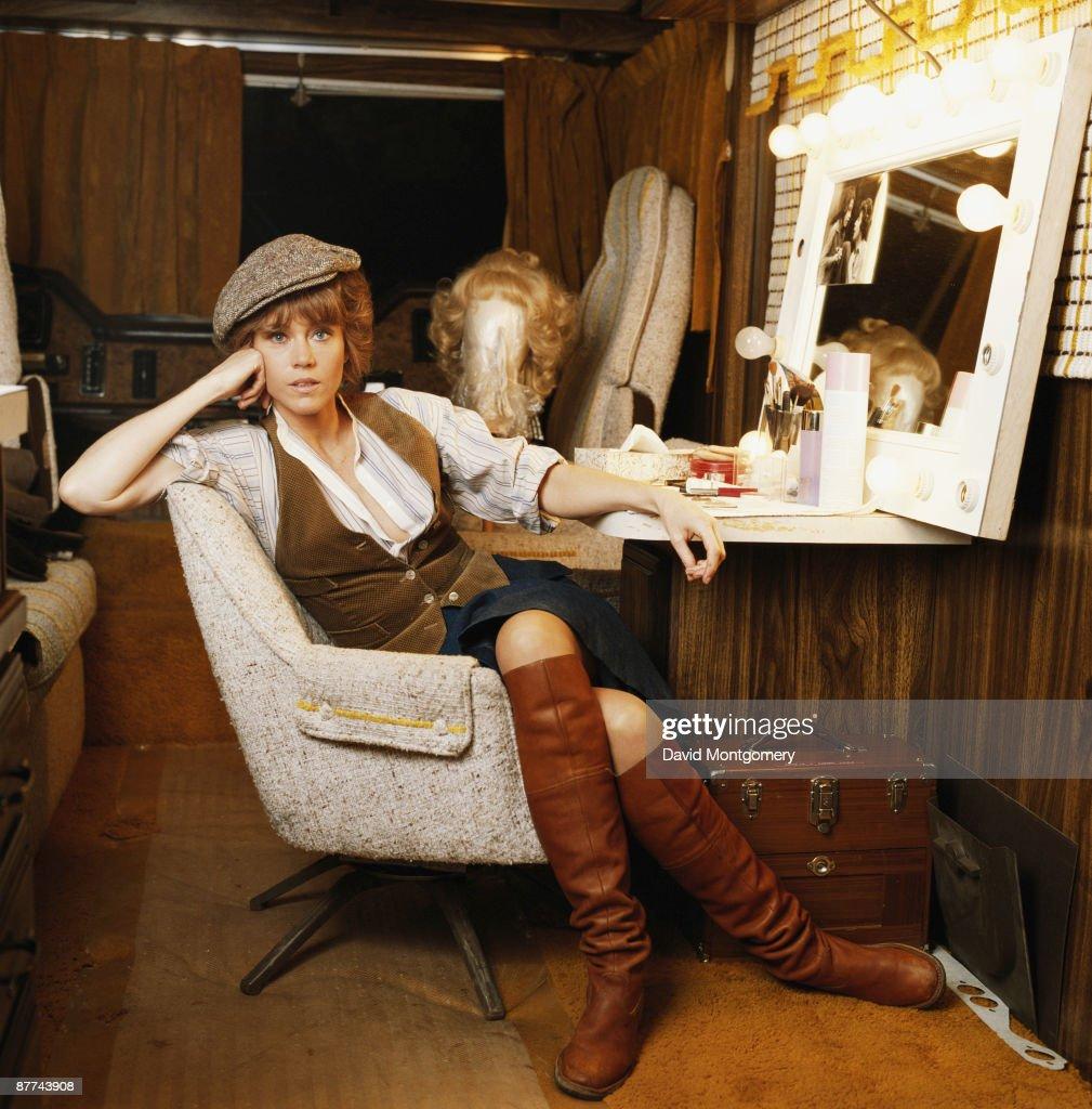 American actress Jane Fonda, circa 1980.