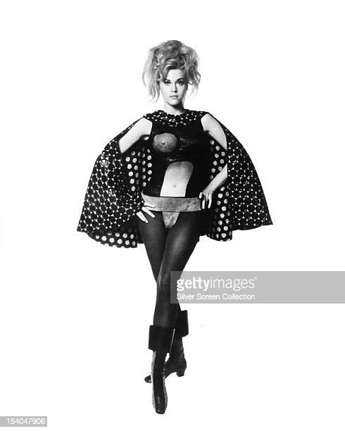 American actress Jane Fonda in the title role of 'Barbarella' directed by Roger Vadim 1968