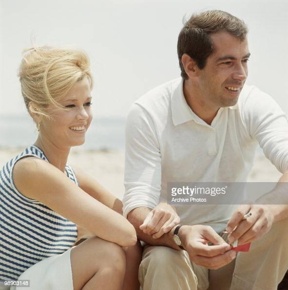 American actress Jane Fonda with her husband French director Roger Vadim California December 1965