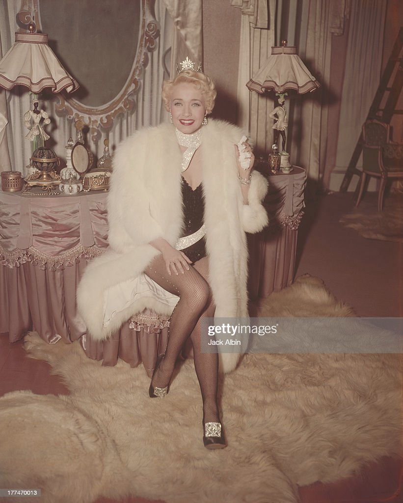 American actress Jane Powell as she appears in the Warner Brothers film 'Three Sailors and A Girl' 1953