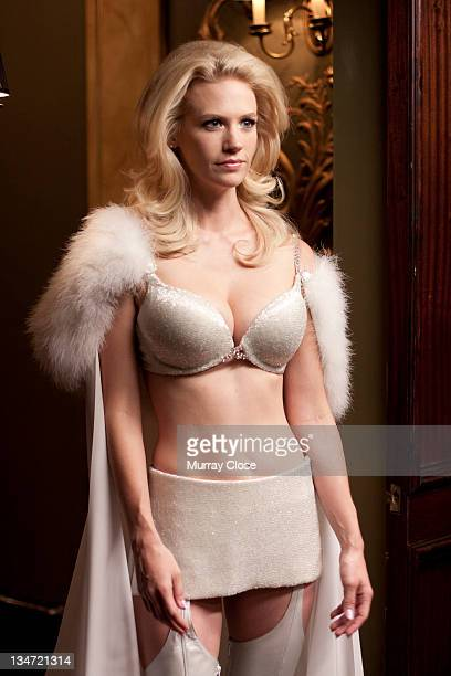American actress January Jones as Emma Frost in a scene from the film 'XMen First Class' 2011