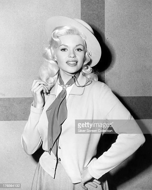 American actress Jayne Mansfield circa 1955