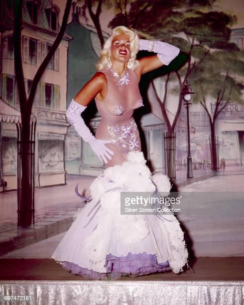 American actress Jayne Mansfield circa 1960