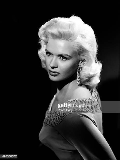 American actress Jayne Mansfield Los Angeles 1957