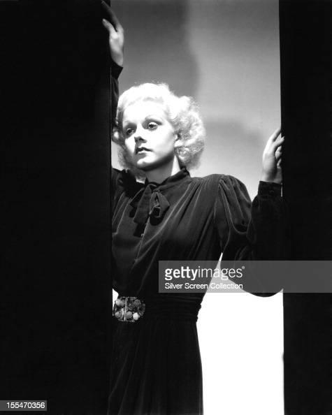 American actress Jean Harlow circa 1935