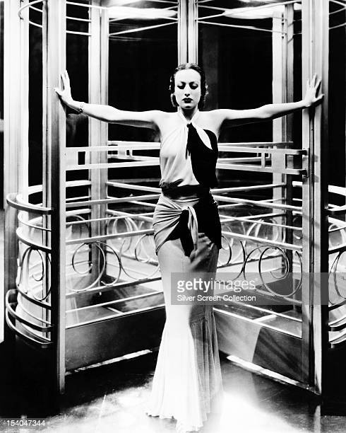 American actress Joan Crawford as she appears in the title role of 'Letty Lynton' directed by Clarence Brown 1932