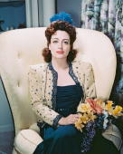 American actress Joan Crawford circa 1940