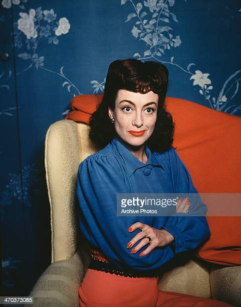 American actress Joan Crawford circa 1945
