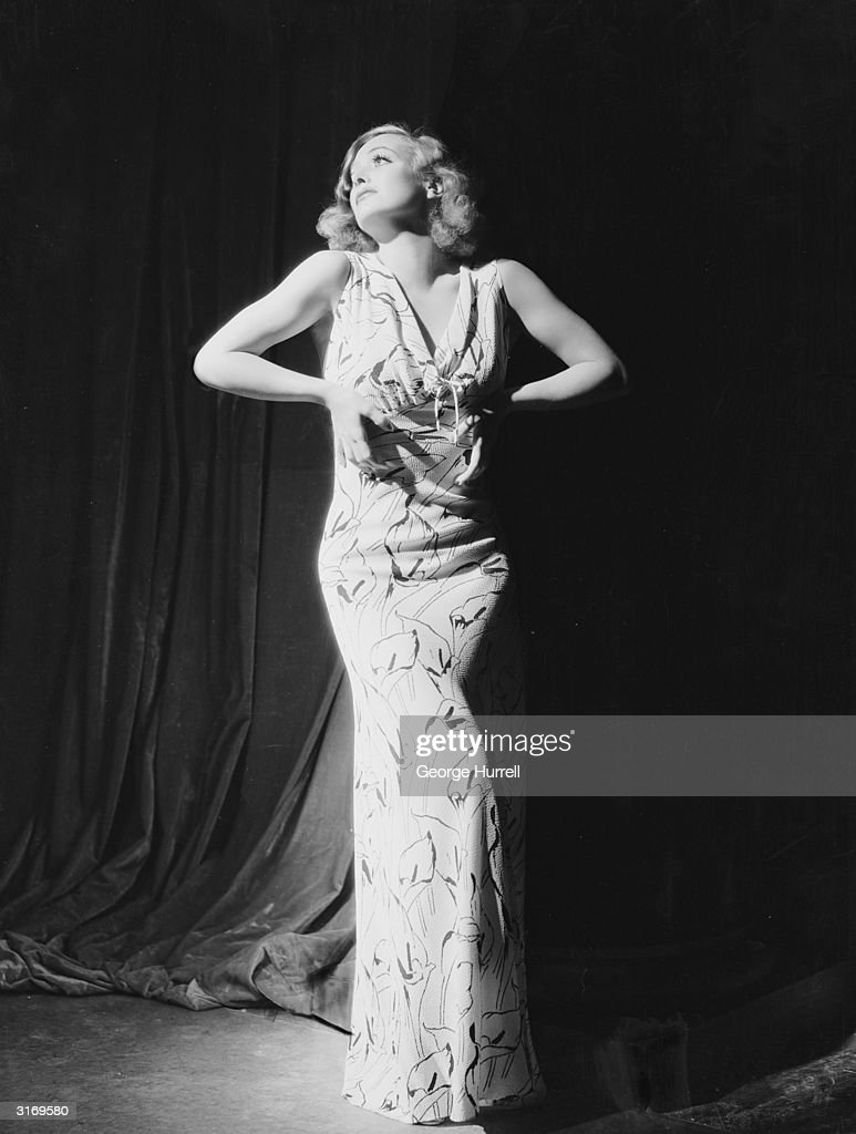 American actress Joan Crawford the stage name of Lucille Fay LeSueur wearing a full length gown She was nominated three times for the Best Actress...