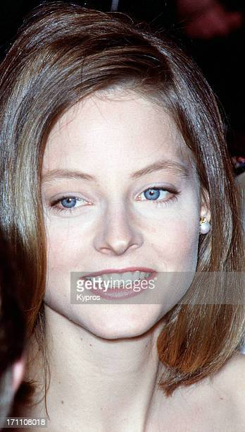 American actress Jodie Foster circa 1990