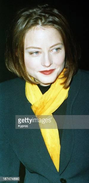 American actress Jodie Foster circa 1990
