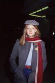 American actress Jodie Foster stands with her hands in her jacket pockets appearing at a Hollywood screening January 1979