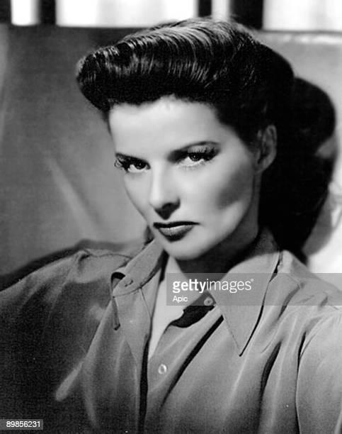 American actress Katharine Hepburn c 1942