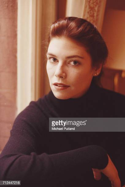 American actress Kelly McGillis posed in London in October 1987