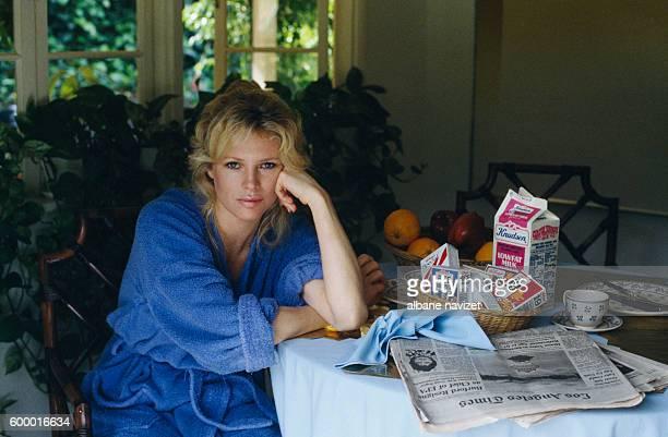 American actress Kim Basinger