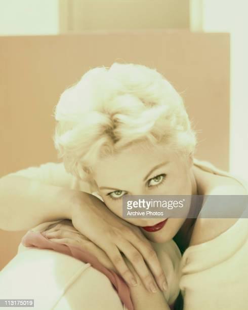 American actress Kim Novak poses circa 1957
