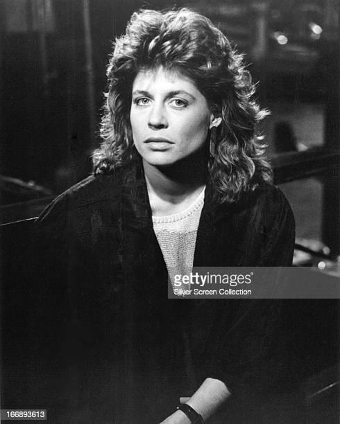 American actress Linda Hamilton circa 1985