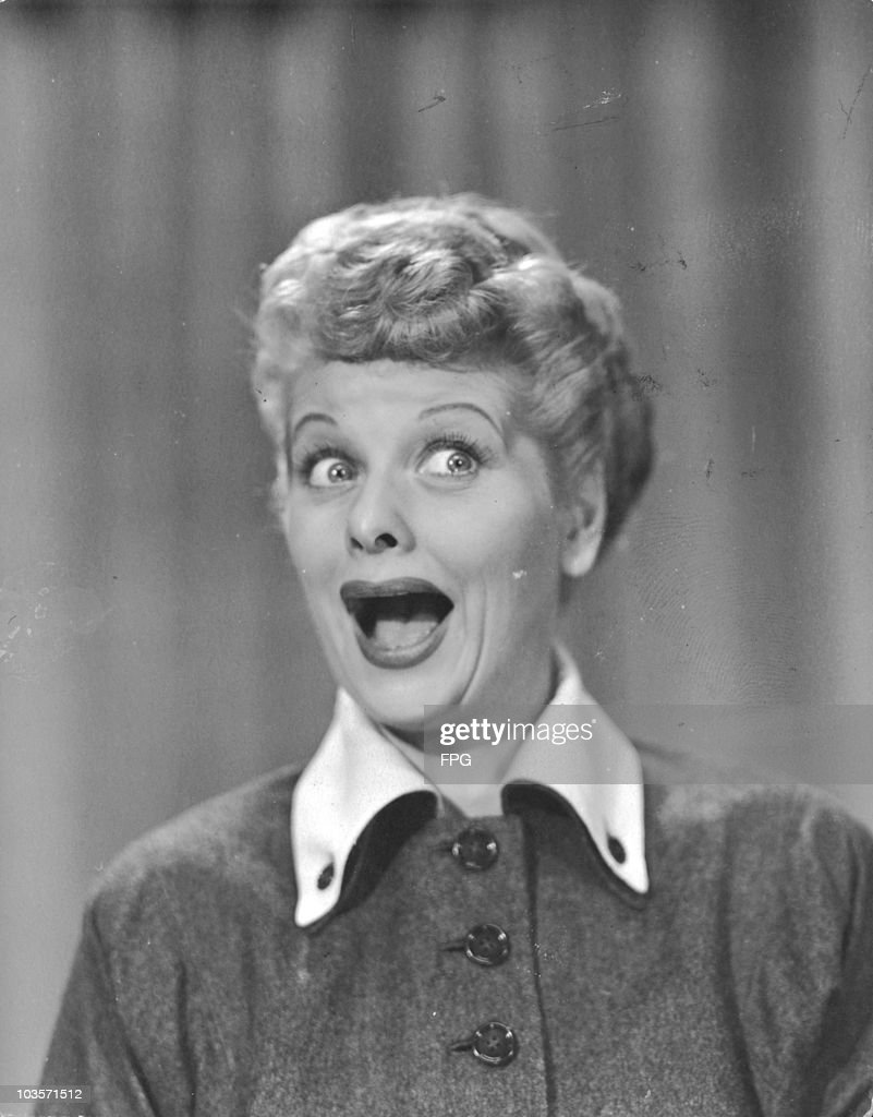 American actress <a gi-track='captionPersonalityLinkClicked' href=/galleries/search?phrase=Lucille+Ball&family=editorial&specificpeople=70020 ng-click='$event.stopPropagation()'>Lucille Ball</a> (1911 - 1989), circa 1955.