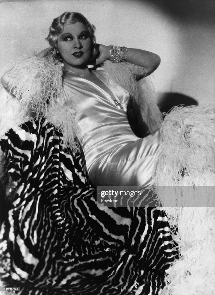 American actress <a gi-track='captionPersonalityLinkClicked' href=/galleries/search?phrase=Mae+West&family=editorial&specificpeople=69994 ng-click='$event.stopPropagation()'>Mae West</a> (1893 - 1980). Original Publication: People Disc - HM0359