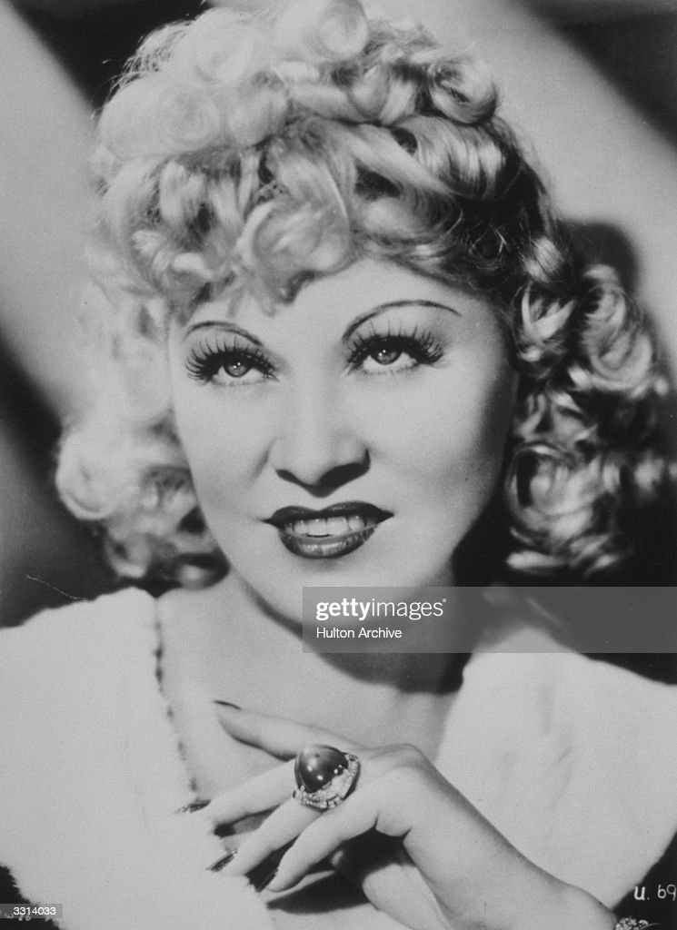 American actress <a gi-track='captionPersonalityLinkClicked' href=/galleries/search?phrase=Mae+West&family=editorial&specificpeople=69994 ng-click='$event.stopPropagation()'>Mae West</a> (1892-1980) stars in the Universal Picture 'My Little Chickadee', directed by Edward F Cline for Universal.