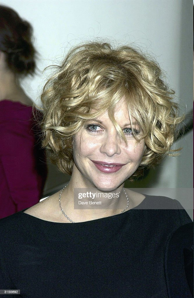 American actress Meg Ryan arrives at the screening of the film 'In The Cut' at the Odeon Cinema Leicester Square on the opening night of the London Film Festival on October 22, 2003 in London.
