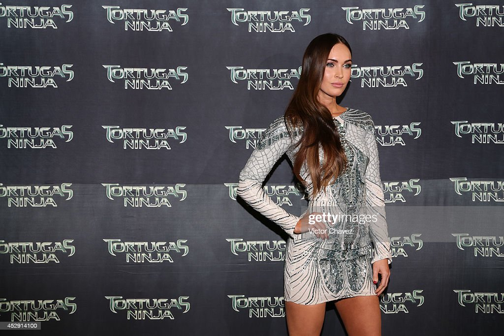 American actress <a gi-track='captionPersonalityLinkClicked' href=/galleries/search?phrase=Megan+Fox&family=editorial&specificpeople=2239934 ng-click='$event.stopPropagation()'>Megan Fox</a> attends the Latin American Premiere of Paramount Pictures' 'Teenage Mutant Ninja Turtles' at Cinepolis Acoxpa, on July 29, 2014 in Mexico City, Mexico.