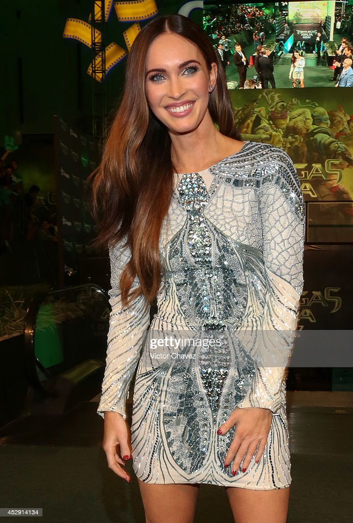 American actress Megan Fox attends the Latin American Premiere of Paramount Pictures' 'Teenage Mutant Ninja Turtles' at Cinepolis Acoxpa, on July 29, 2014 in Mexico City, Mexico.