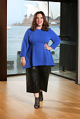 American actress Melissa McCarthy poses during a photo shoot at the Park Hyatt Hotel in Sydney New South Wales ahead of the premiere of her new film...
