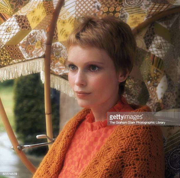 American actress Mia Farrow circa 1967