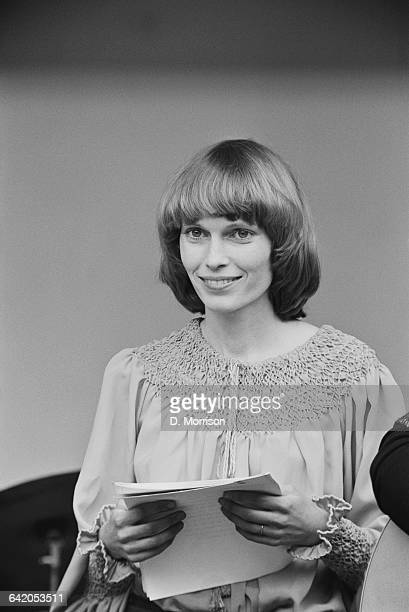 American actress Mia Farrow takes part in a theatrical event in Victoria Park London as part of an antiwar protest UK 31st May 1971
