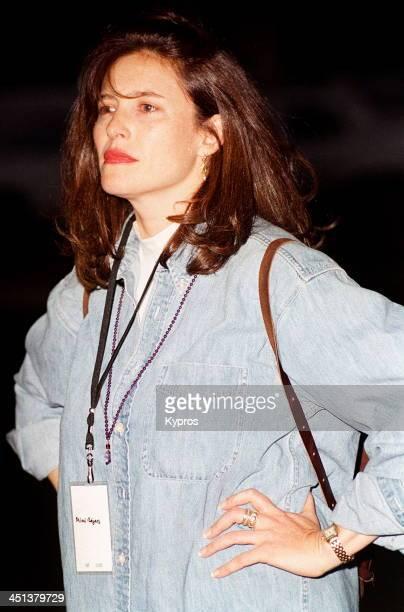American actress Mimi Rogers circa 1990