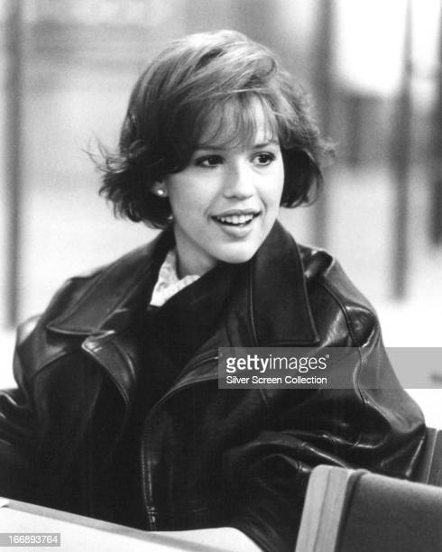 American actress Molly Ringwald as Claire Standish in 'The Breakfast Club' directed by John Hughes 1985
