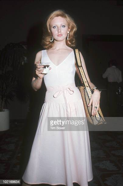 American actress Morgan Fairchild poses at a party at the Excelsior Club New York New York June 23 1975