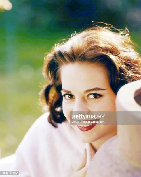 American actress Natalie Wood circa 1955