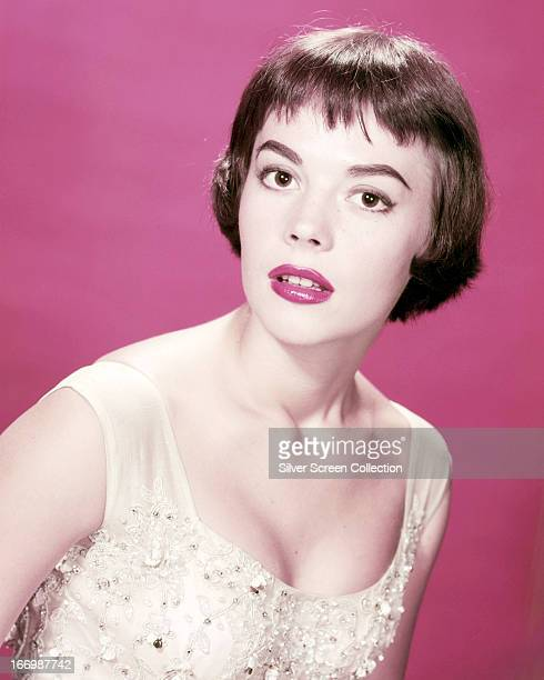 American actress Natalie Wood circa 1955