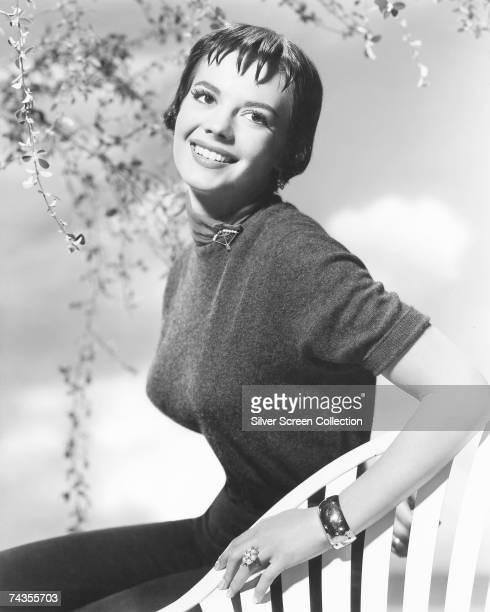 American actress Natalie Wood circa 1958