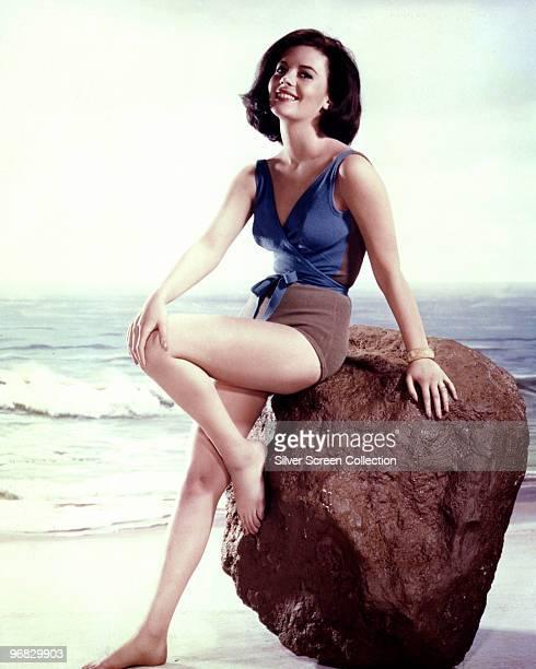 American actress Natalie Wood circa 1965