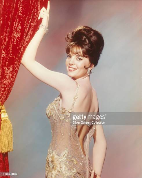 American actress Natalie Wood in a diaphanous gown circa 1962